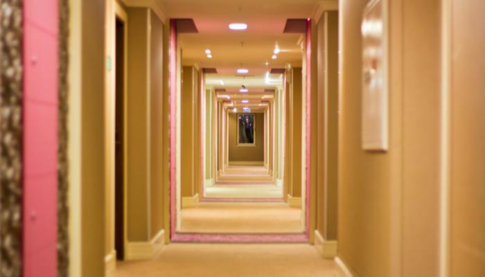 iluminación led en hotel